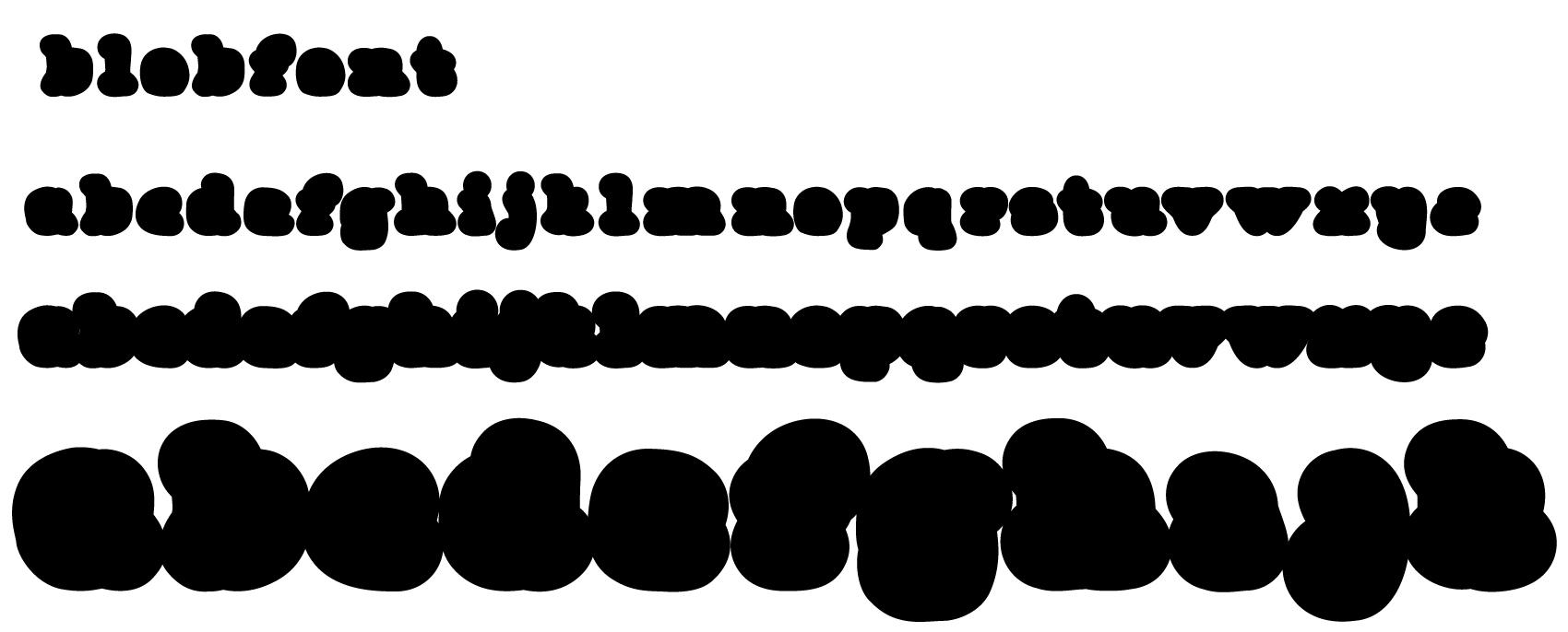 blob-alphabet