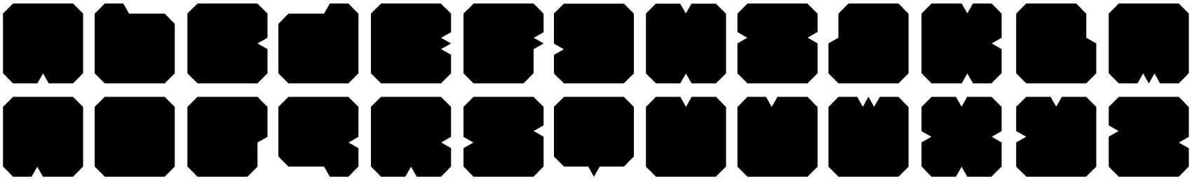 zwart-alphabet